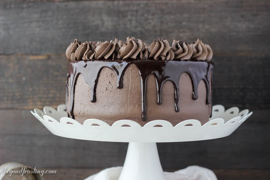 Image of a Homemade Chocolate Cake