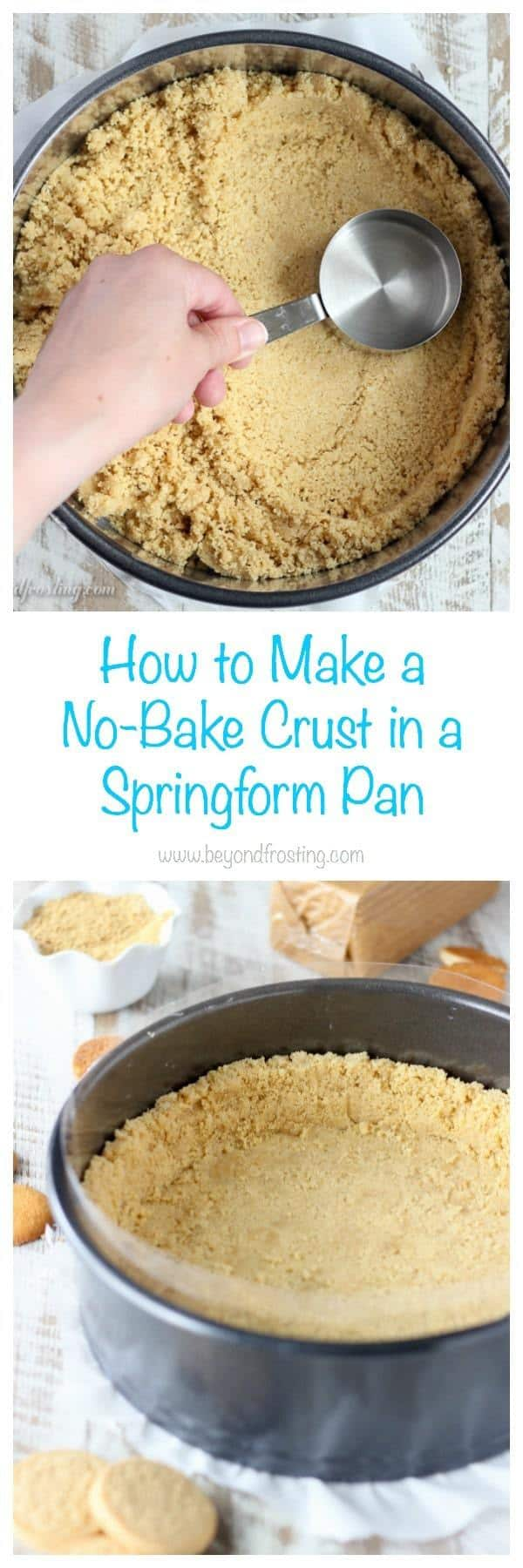How To Make A No Bake Crust In A Springform Pan Beyond