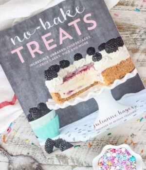 No-Bake Treats Cookbook Official Release