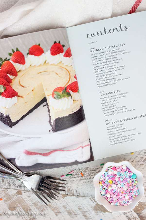 No-Bake Treats Cookbook