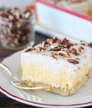 No-Bake Pumpkin Lush Icebox Cake