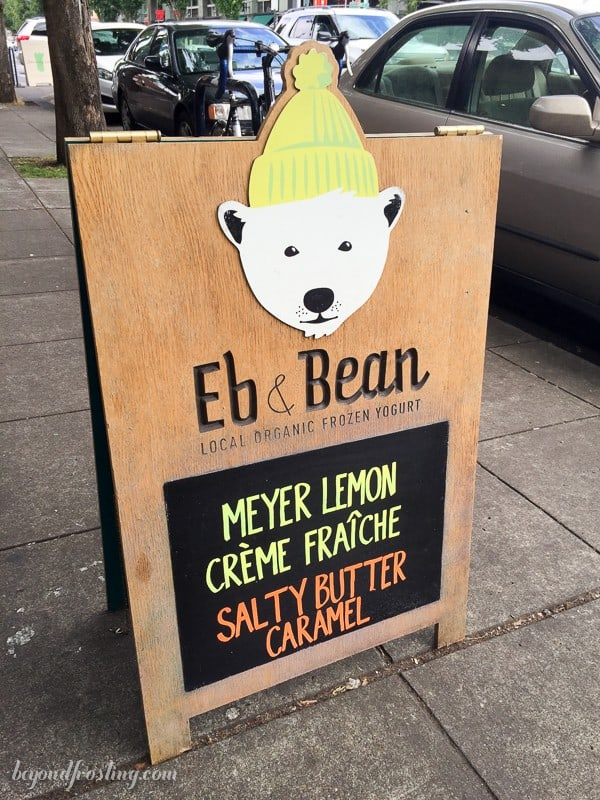 Beyond Frosting Eats: Portland, Oregon Ice Cream. Eb & Bean
