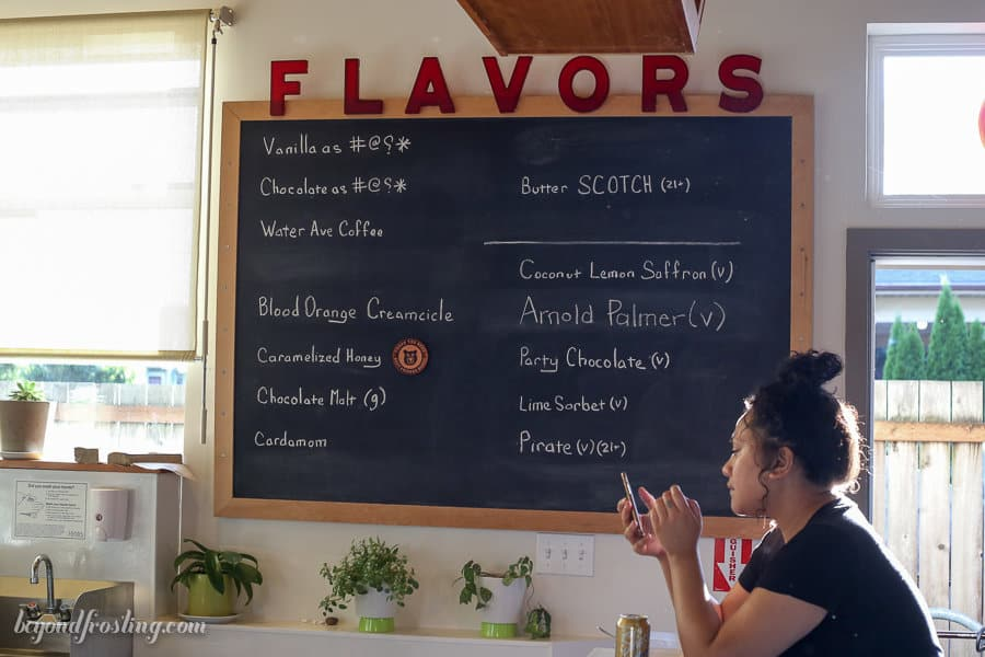 Beyond Frosting Eats: Portland, Oregon Ice Cream. Fifty Licks