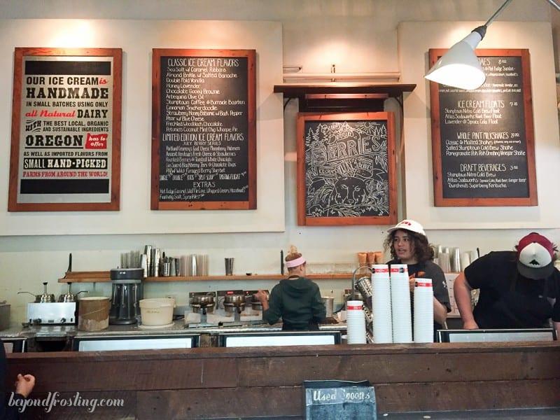 Beyond Frosting Eats: Portland, Oregon Ice Cream. Salt and Straw