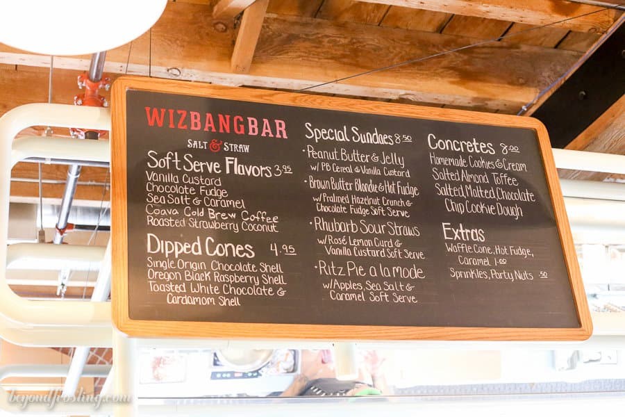 Beyond Frosting Eats: Portland, Oregon Ice Cream. Salt and Straw WizBangBar