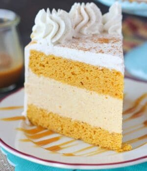 Pumpkin Ice Cream Cake