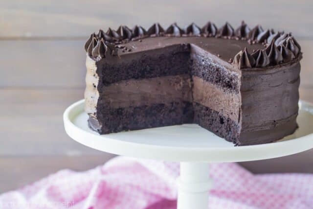 Brookelyn Blackout Cheesecake Cake