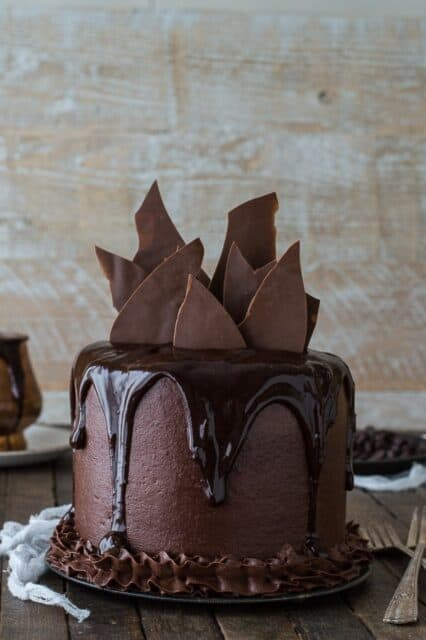 Chocoalte Chocolate Cake