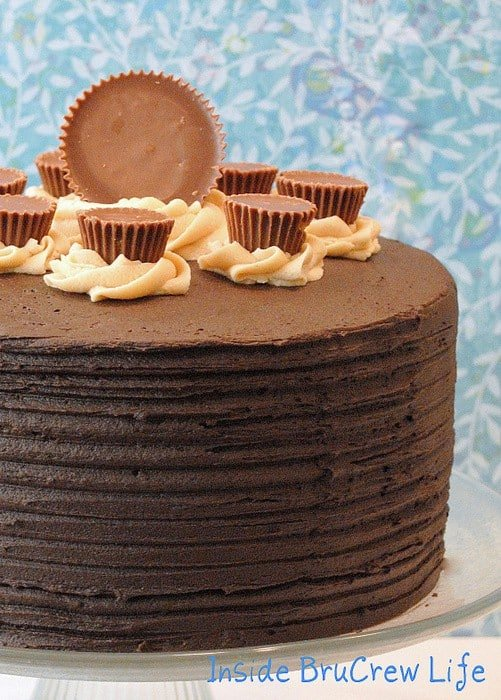 Peanut Butter Explosion Cake