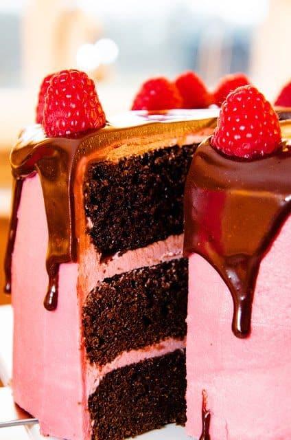 Raspberry Chocoalte Cake