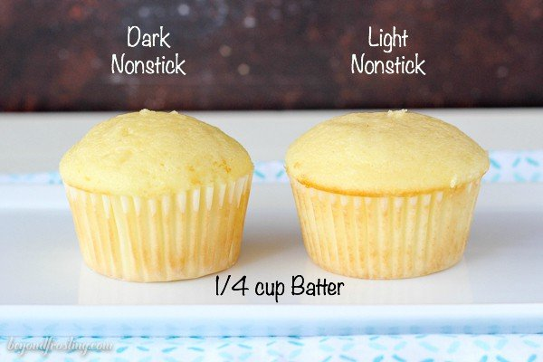 Standard Cupcake Size Dimensions