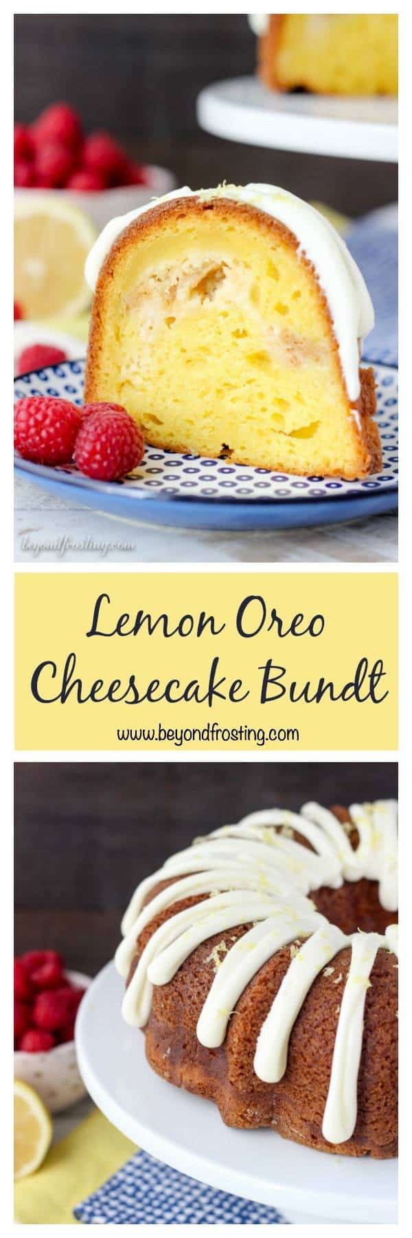 Beyond Frosting Oreo Chocolate Cheesecake Bundt Cake