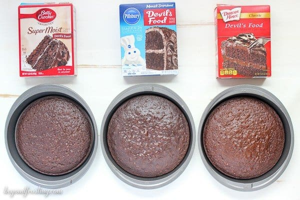 All your boxed cake mix questions answered. This is the best guide for what types of cake mix to choose. What cake mix is the most chocolaty? What cake mix has the best rise? I'm answering all your questions.