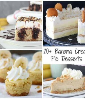20+ Head Spinning Banana Cream Pie Desserts
