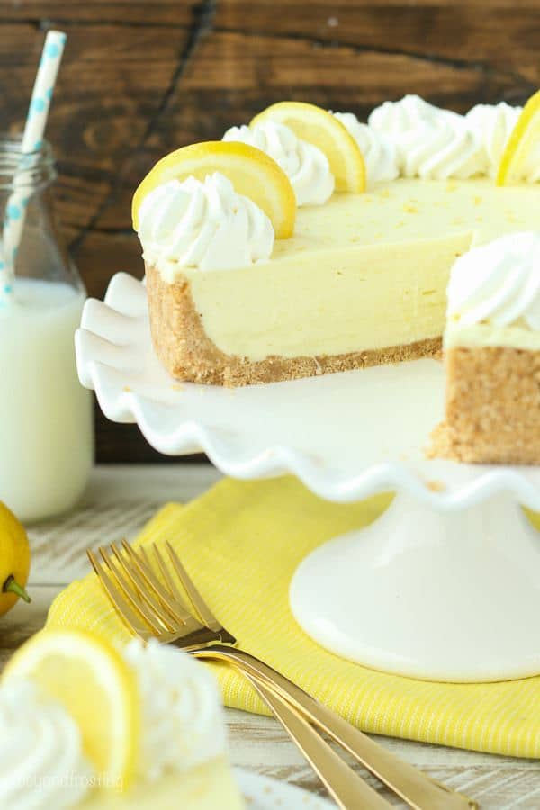 This No-Bake Lemon Cream Pie requires only 5 ingredients for the filling. It's EASY and quick!
