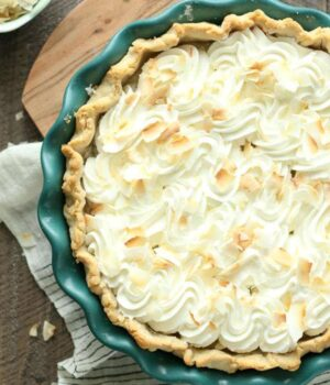To Die For Coconut Cream Pie