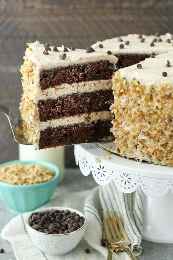 Chocolate Zucchini Cake with Brown Butter Frosting ...