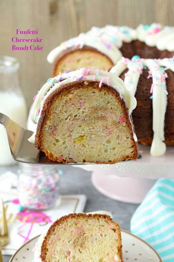 Lemon Bundt Cake With Strawberry Filling
