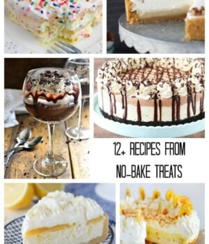 No Bake Treats Cookbook Recipe Roundup