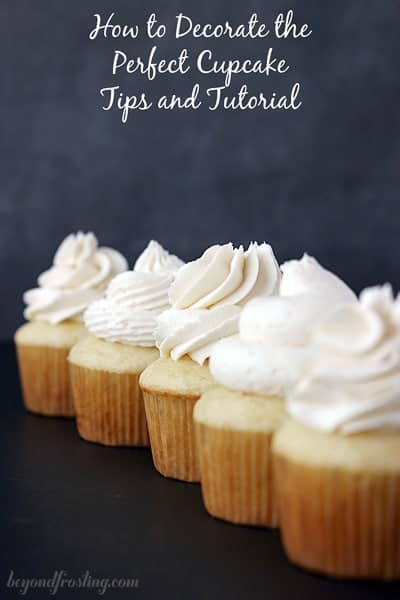 How to decorate the perfect bakery style cupcake