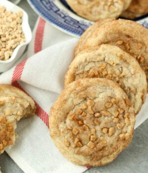 Toffee Snickerdoodles