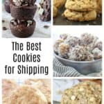 The Best Cookies for Shipping plus lots of tips for how to ship cookies. Whether it's Christmas or not, shipping cookies is easier than you think!