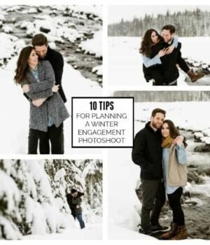10 Tips for Planning a Winter Engagement Photoshoot
