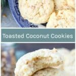 Toasted Coconut Cookies