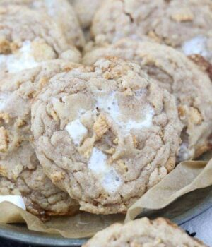 Cinnamon Toast Crunch Marshmallow Cookies