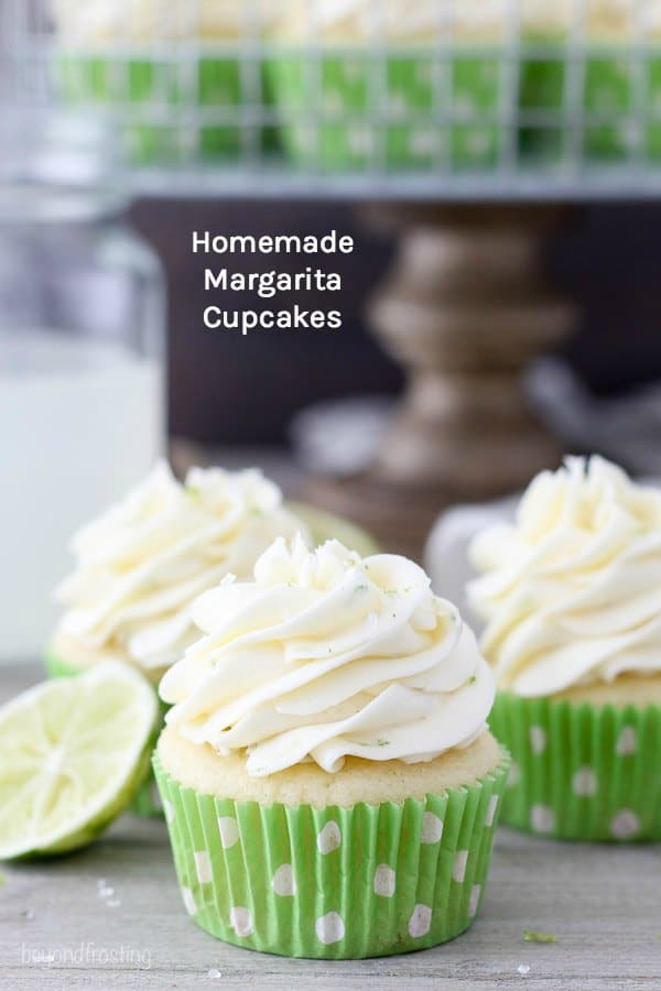Homemade Margarita Cupcake Recipe