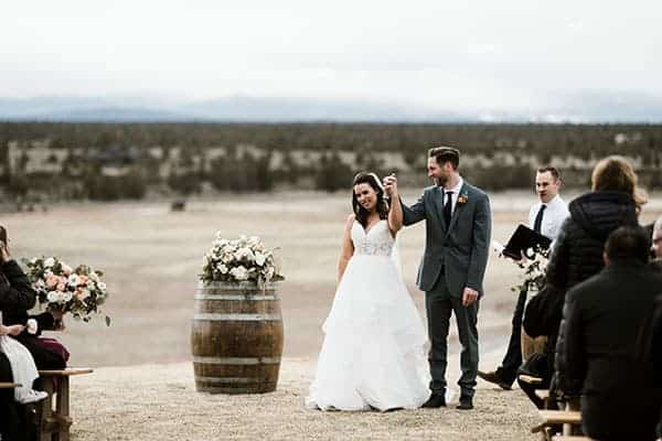Brasada Ranch Rustic Wedding, Bend Oregon © Kimberly Kay Photography