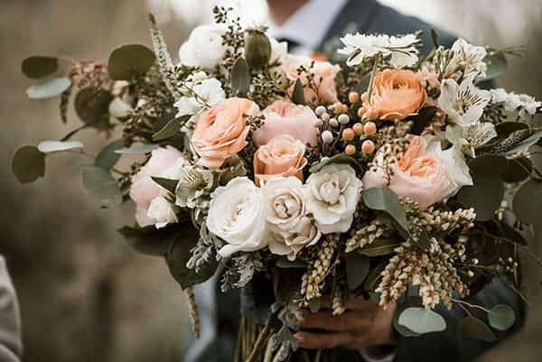 Petals by Katie, Brasada Ranch Wedding Brasada Ranch Rustic Wedding © Kimberly Kay Photography