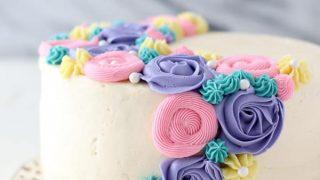 Buttercream flower cake beyond frosting mightylinksfo