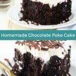 Homemade Easy Chocolate Poke Cake