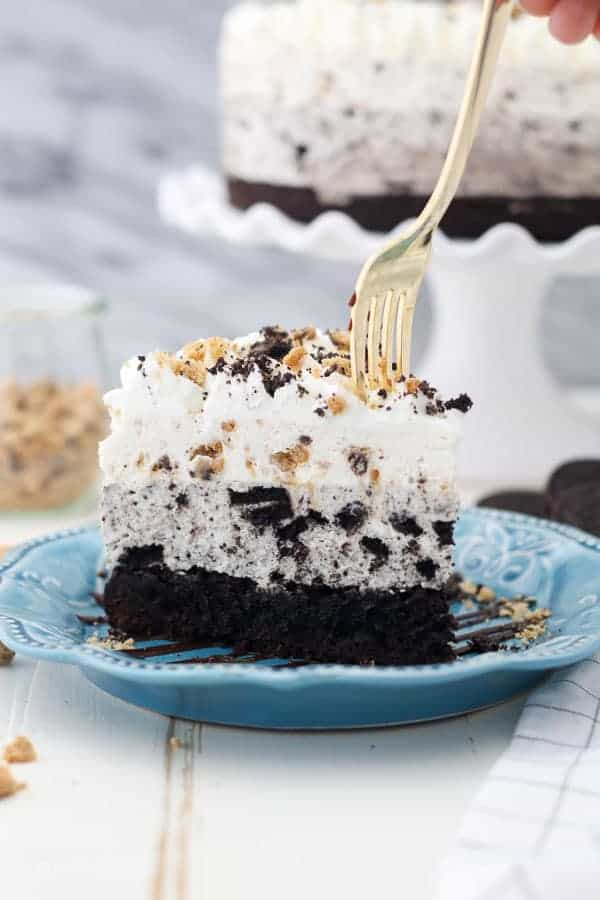 Oreo Brookie Mousse Cake Beyond Frosting