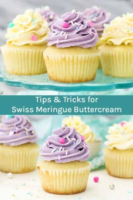 Tips and tricks to learn how to make Swiss Meringue Buttercream.