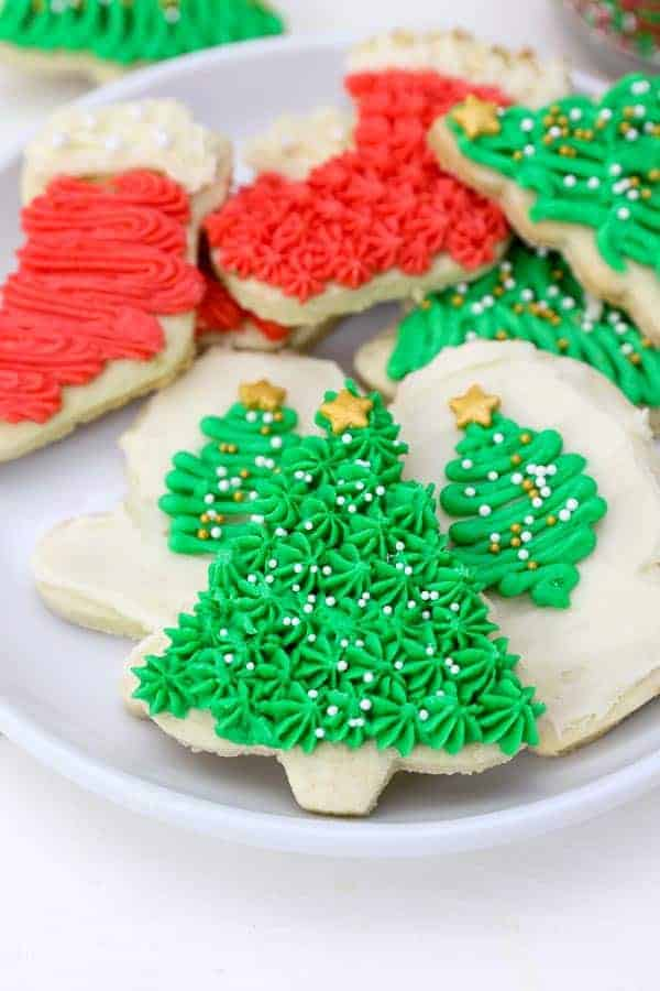 Christmas Cookie Frosting.How To Make Sugar Cookies Beyond Frosting
