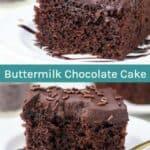 Buttermilk chocolate cake recipe