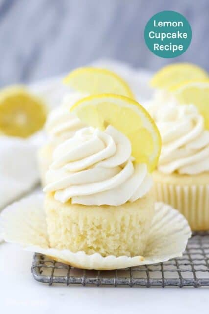 Homemade Moist Lemon Cupcake Recipe