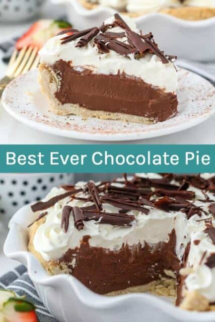 Chocolate Pie Photo Collage