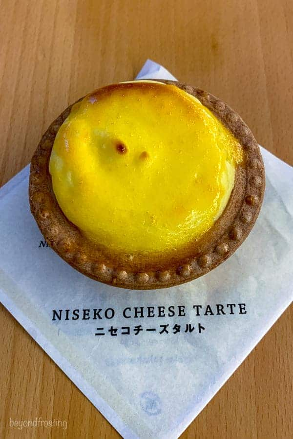 Niseko Cheese Tart Milk Kobo