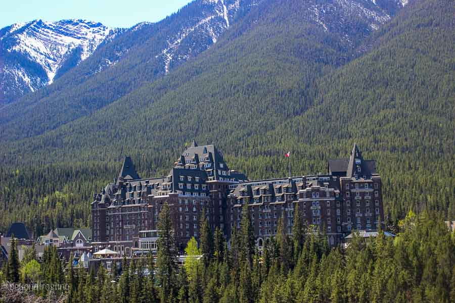Gorgeous Fairmont Hotel in Banff