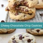 Best Soft and Chewy Chocolate Chip Cookie