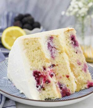 Lemon Blackberry Cake