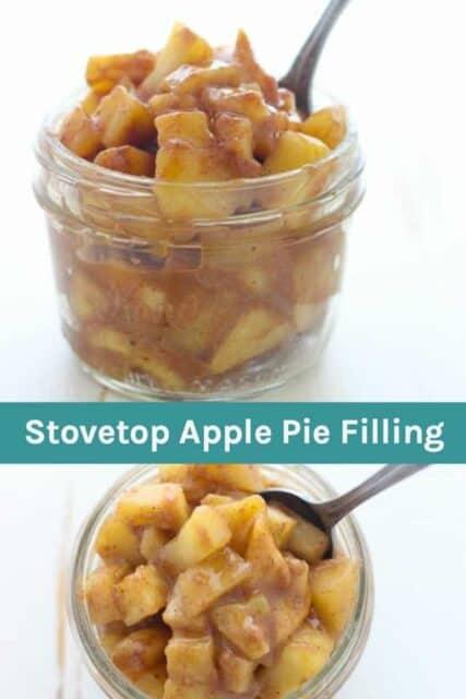 Stovetop Apple Pie Filling