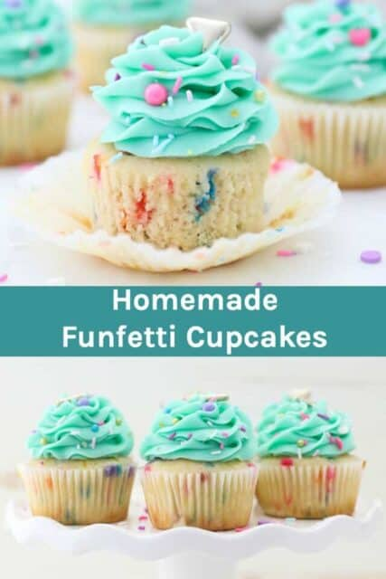 Funfetti Cupcake Recipe