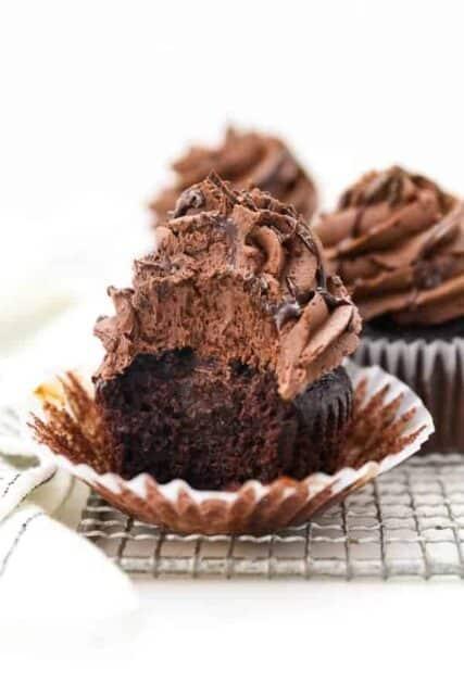 Photo of Chocolate Ganache Cupcakes