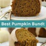 The best pumpkin bundt cake