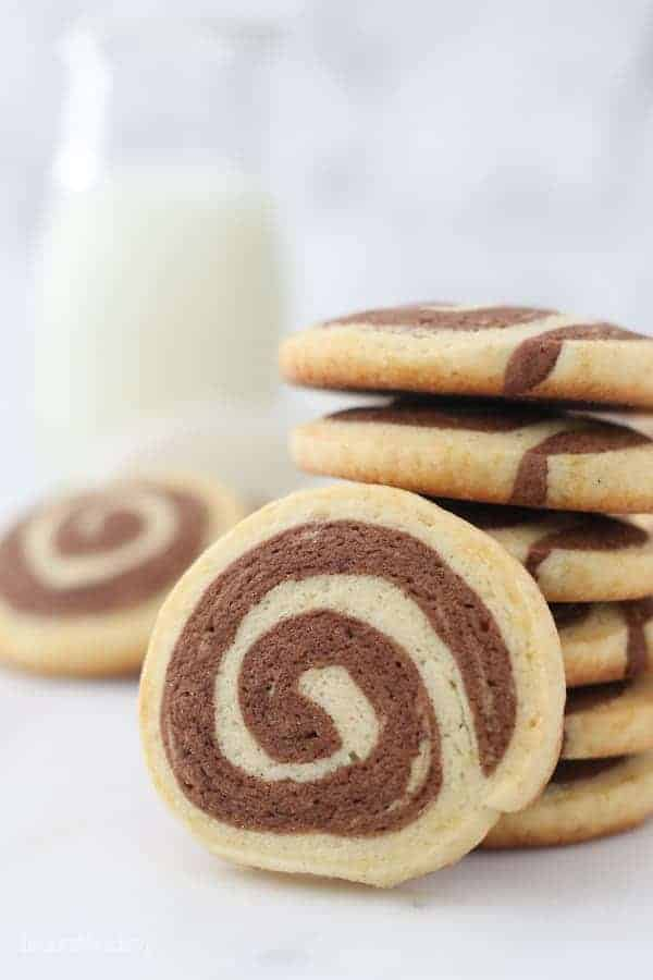 Easy Pinwheel Cookies by Julianne Dell from Beyond Frosting