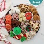 Christmas Dessert charcuterie board